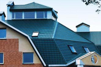 Крыша из металлочерепицы по оптимальной цене